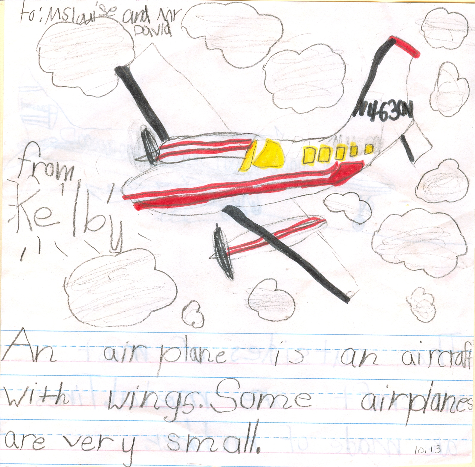 Kelby's Airplanes, 11/15/2013